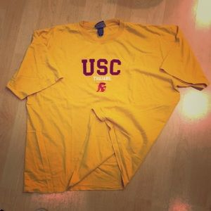 USC Trojans vintage tee shirt, EUC